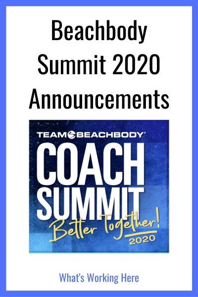 Beachbody Summit 2020 Announcements