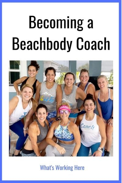 Group of Beachbody Coaches Becoming a beachbody coach