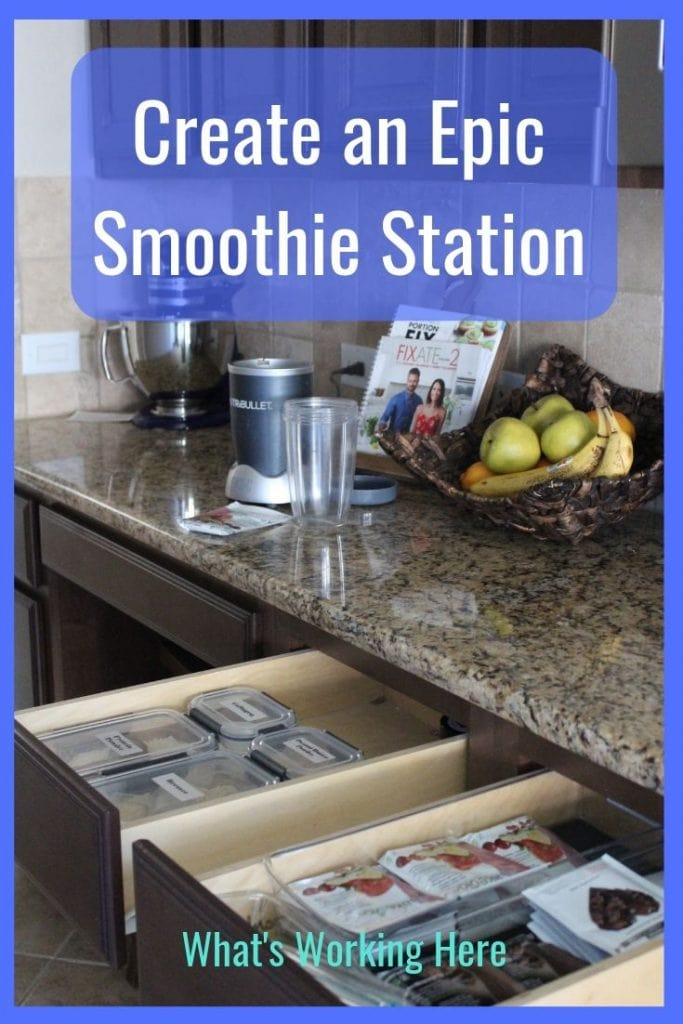 Create an Epic Smoothie Station