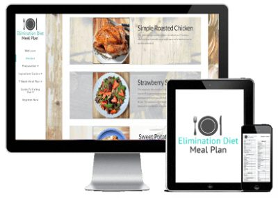Elimination Diet Meal Plan - what is included