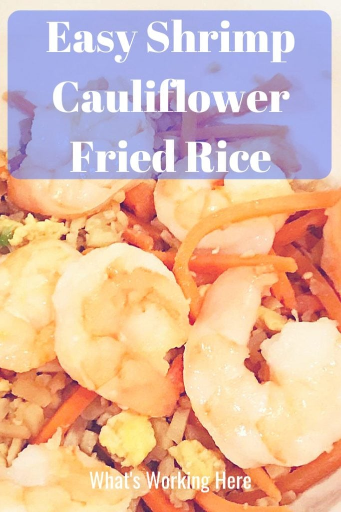 Easy Shrimp Cauliflower Fried Rice