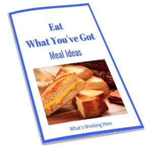Eat What You've Got Meal Ideas Booklet