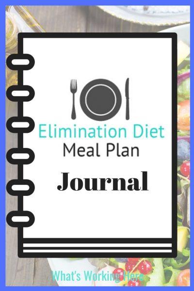 Elimination Diet Meal Plan Journal-