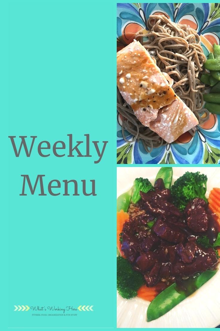 Feb 10 Weekly Menu - Transform 20- Featuring Teriyaki Salmon and Mongolian Beef