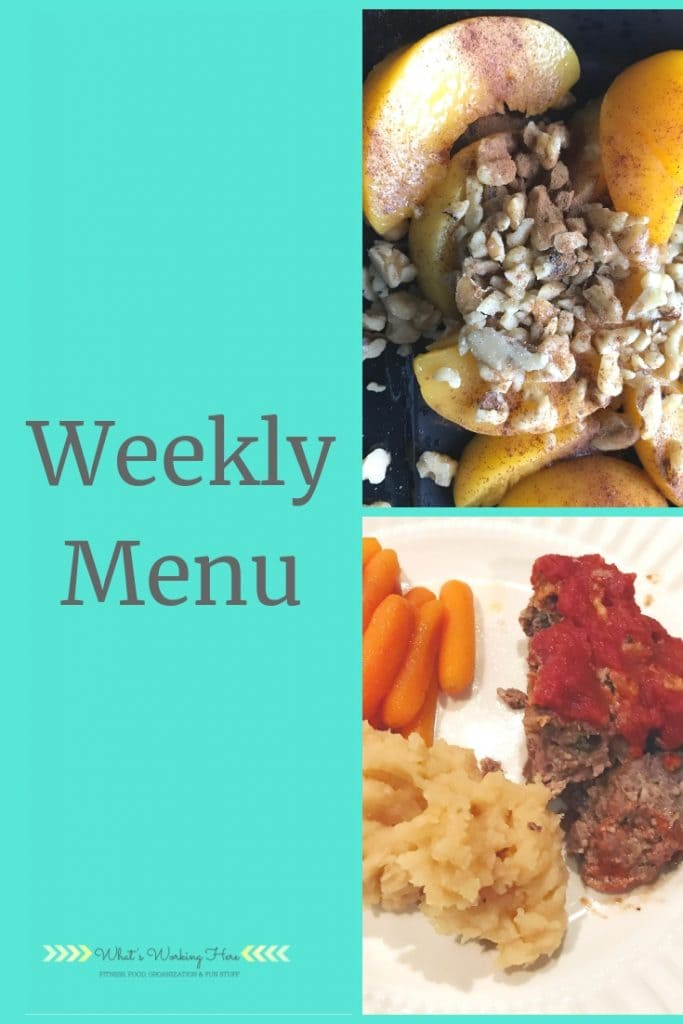 Feb 3 Weekly Menu - Transform 20