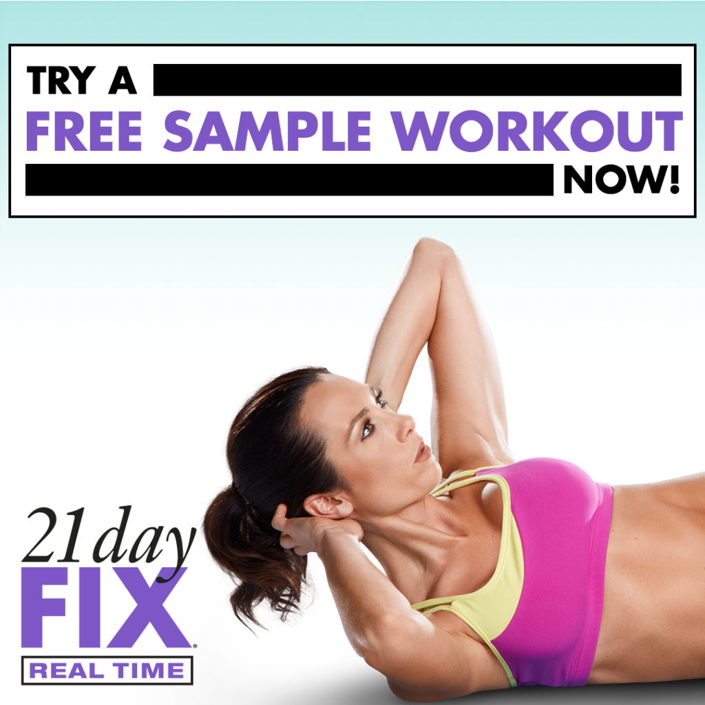 21 Day Fix Free sample workout