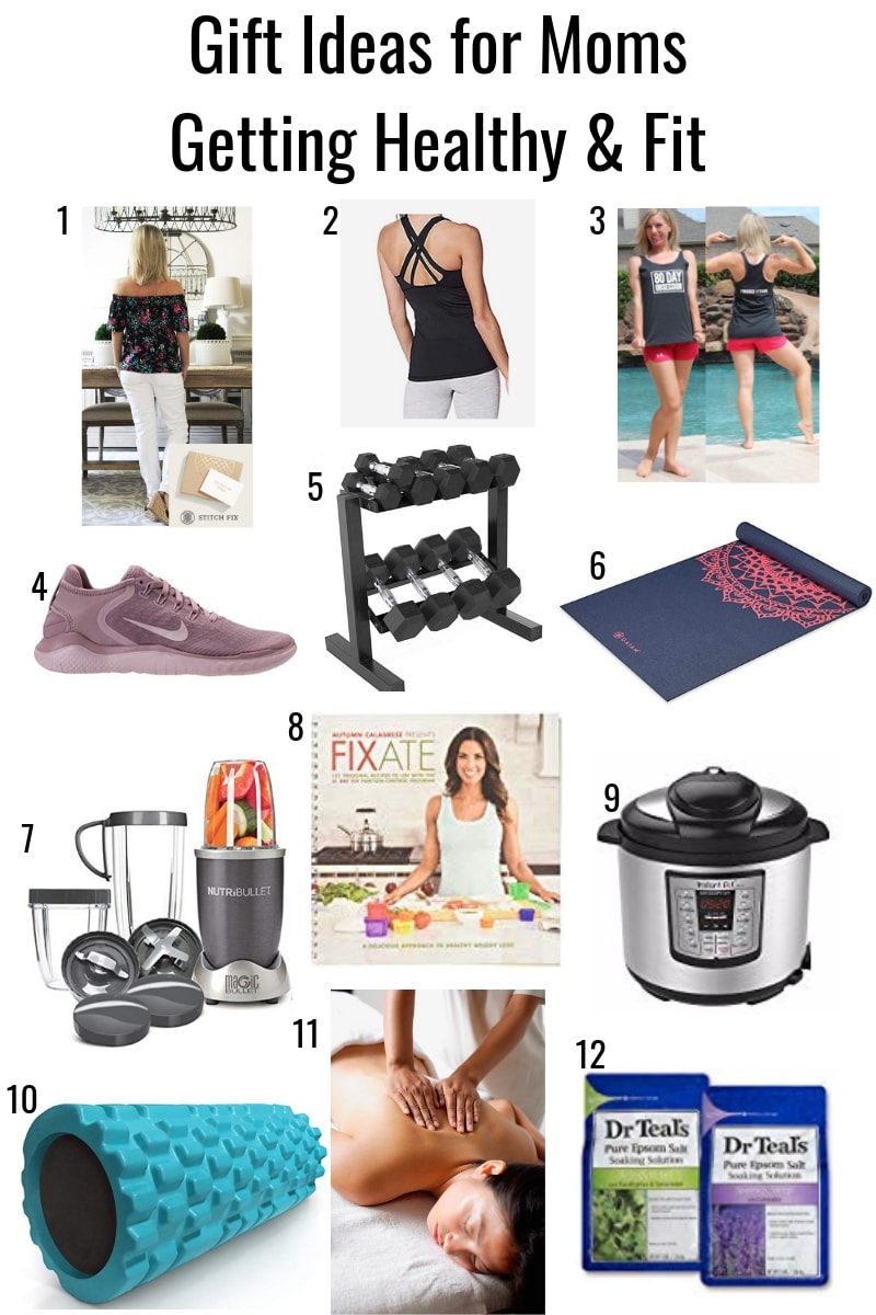 Gift Ideas for Moms Getting Healthy & Fit