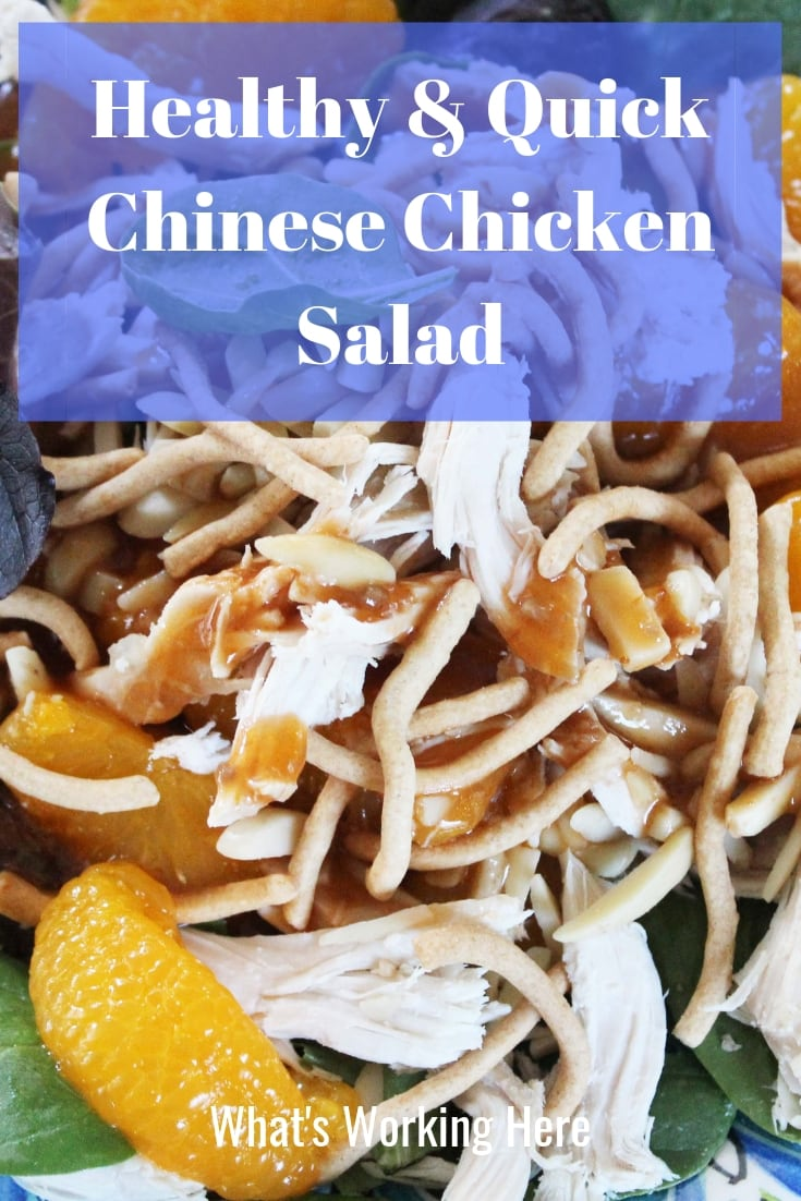 Healthy & Quick Chinese Chicken Salad