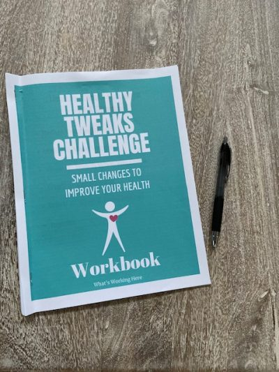 Healthy Tweaks Challenge workbook