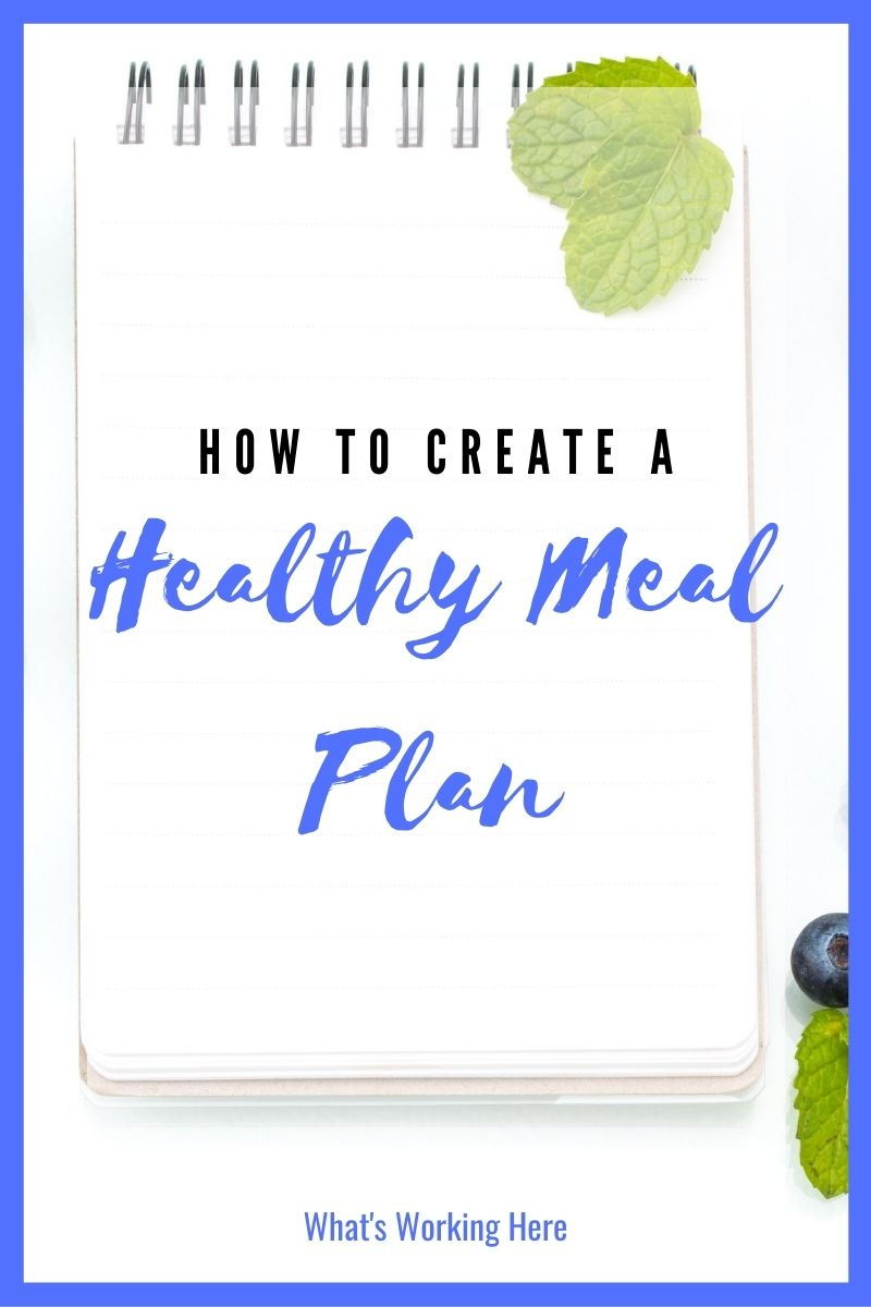 How To Create A Healthy Meal Plan