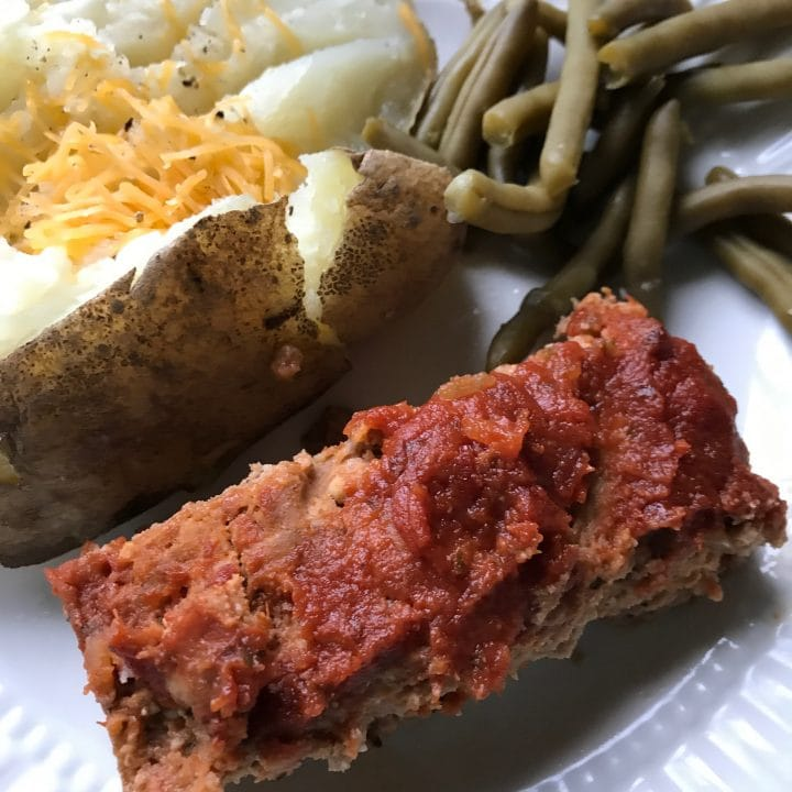 Healthy Italian Turkey Meatloaf