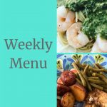 Fresh Herb Recipes- Weekly Menu 6/2/19