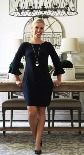 Stitch Fix Summer To Fall Style Laundry by Shelli Segal dress Bay To Baubles necklace