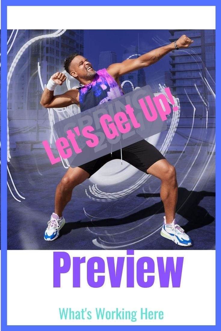 Let's Get Up Fitness Program Preview