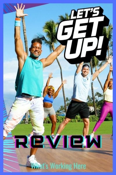 Let's Get Up fitness program Review- Shaun T, Beachbody