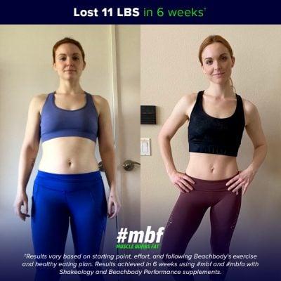 Liz G #mbf results