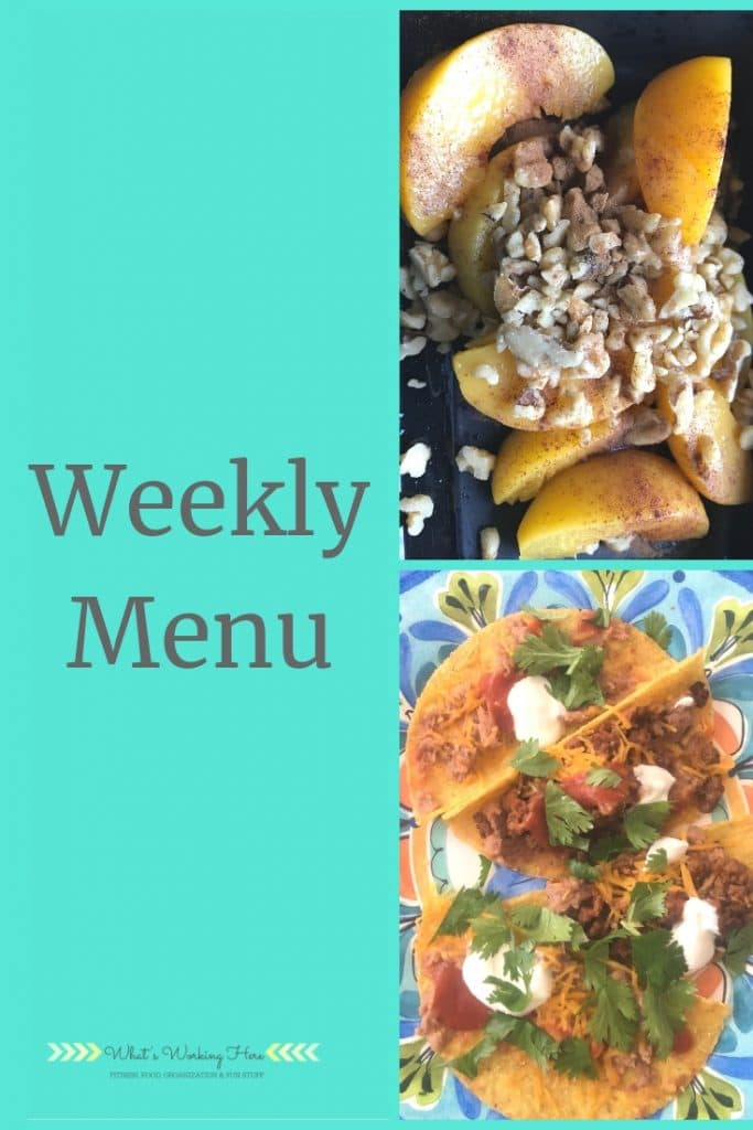 March 10 Weekly Menu