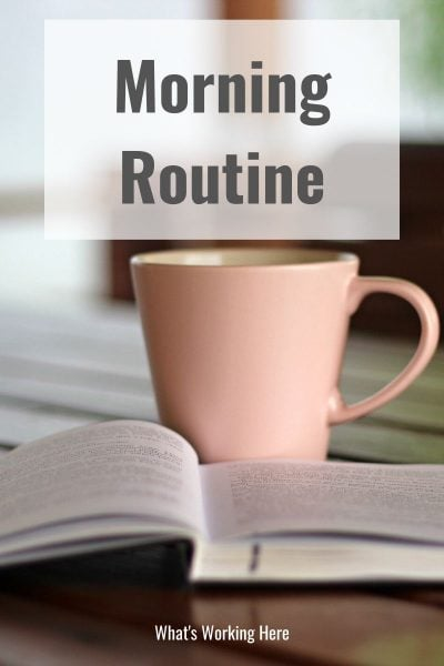 morning routine- example and how to make one