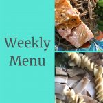 Weekly Menu 10/21/18 - Countdown to Competition