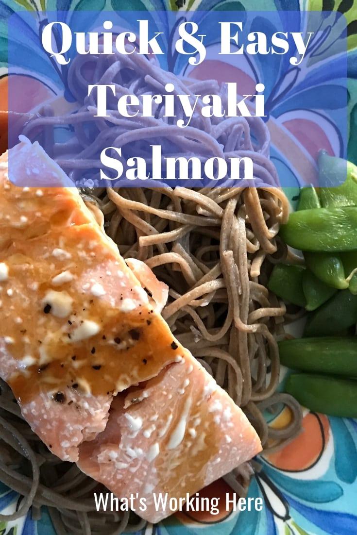 Quick & Easy Teriyaki Salmon