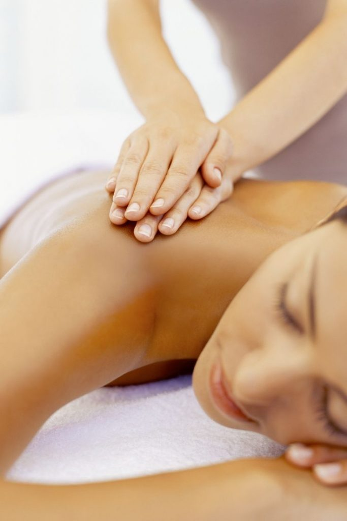 Self Care for Fitness - Massage - woman getting a massage