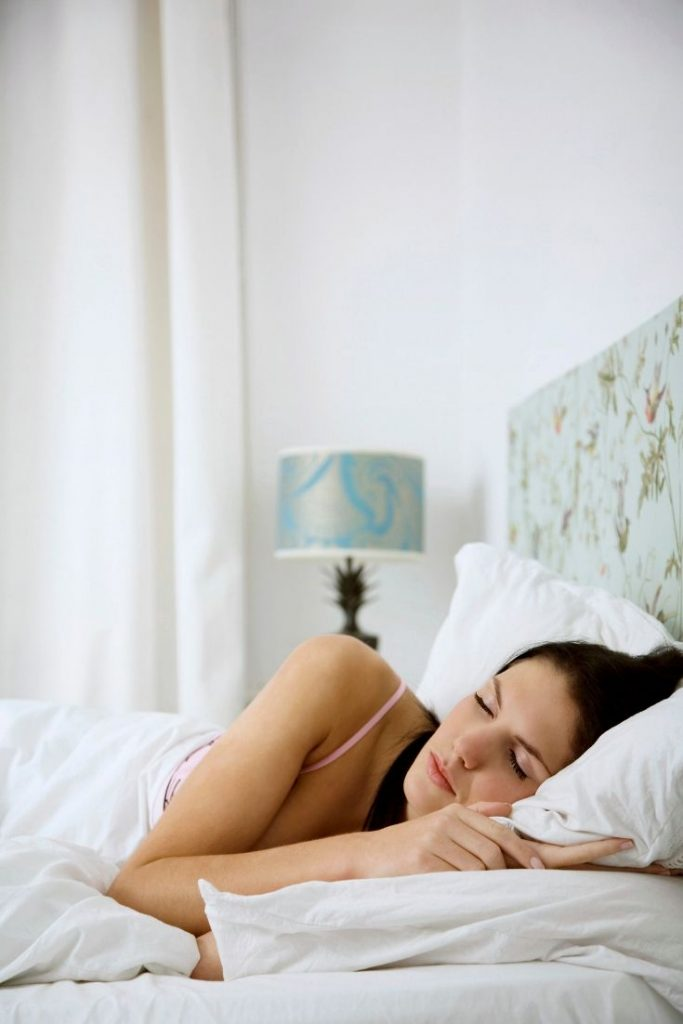 Self Care for Fitness - Rest - woman sleeping