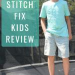 Stitch Fix Kids Review - My Son's 1st Fix