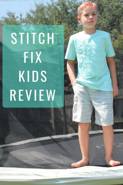 Stitch Fix Kids Review