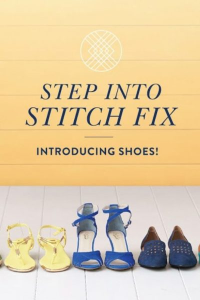 Stitch Fix now offers Shoes