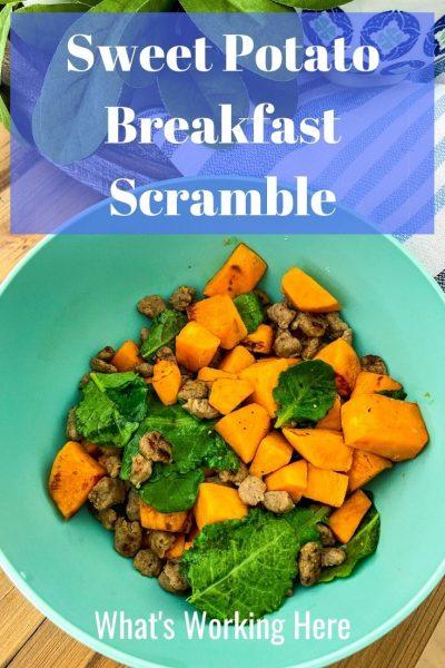 Sweet Potato Breakfast Scramble