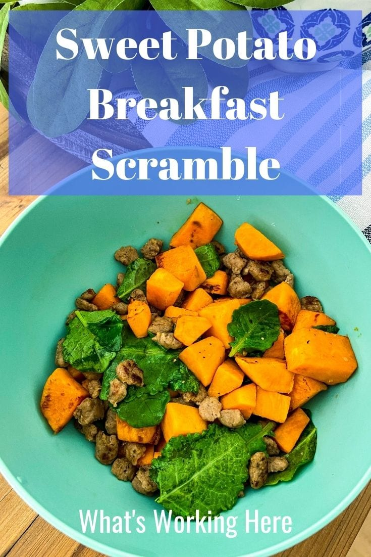 Sweet Potato Breakfast Scramble