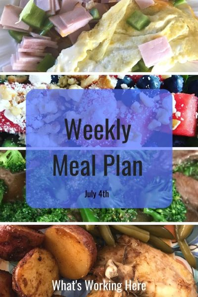 carb cycling meal plan ham and bell pepper omelet watermelon spinach salad with blueberries and feta beef and broccoli stir fry rosemary chicken, potatoes and green beans