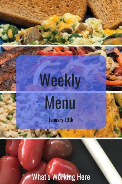 Weekly menu 1_19_20-2B Mindset