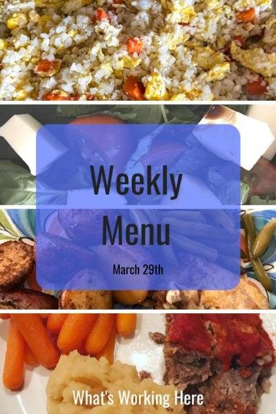 Weekly menu 3_29_20 - why meal plan