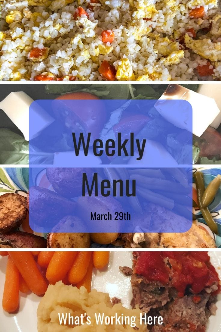Weekly menu 3_29_20 - why meal plan