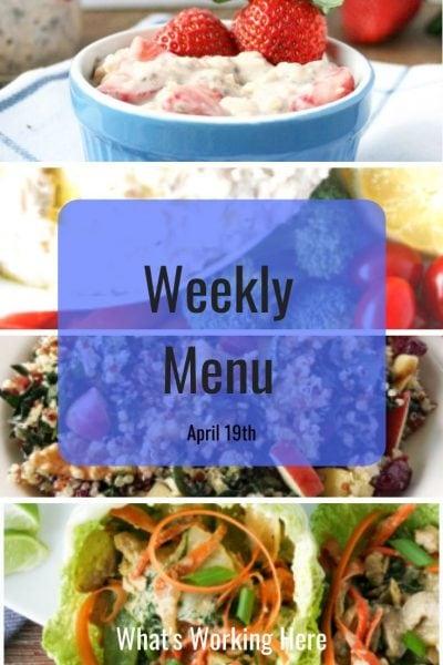 Weekly menu 4_19_20 - real food recharge