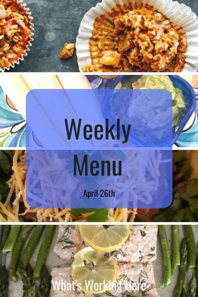 Weekly menu 4_26_20 - portion fix containers
