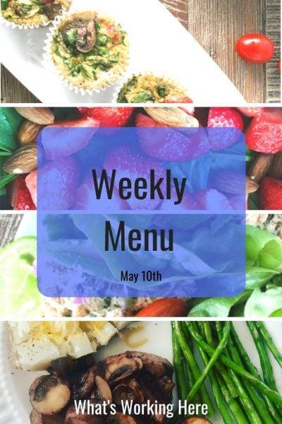 Weekly menu 5_10_20 - real food recharge
