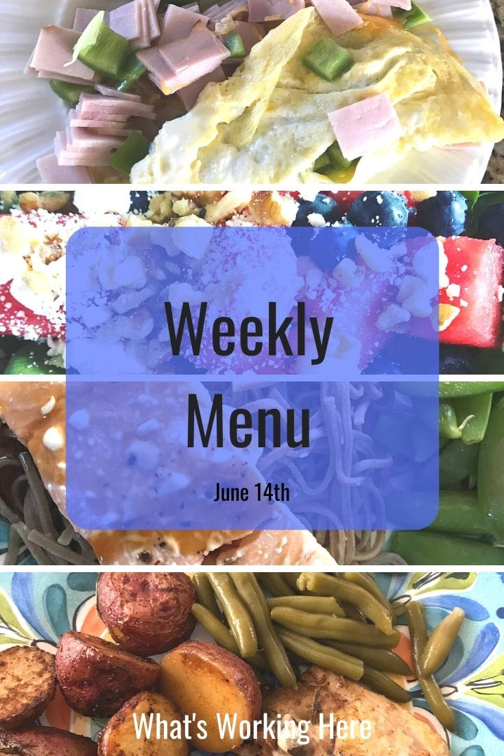 Weekly menu 6_14_20 - finding a meal planning system