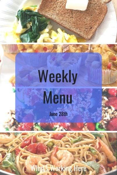 Weekly menu 6_28_20 - fixate recipes