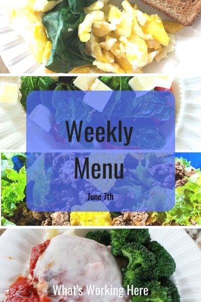 Weekly menu 6_7_20 - meal plan in minutes