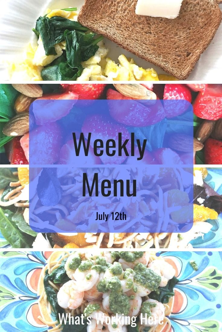 Weekly menu 7_12_20- easy healthy recipes
