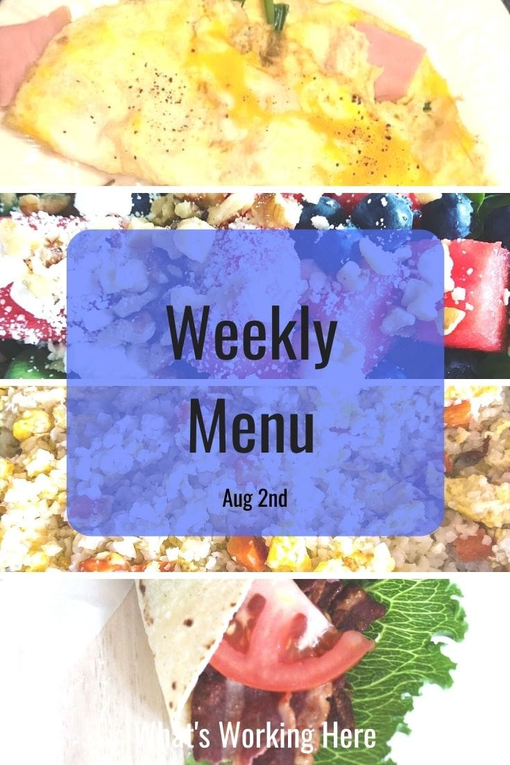 Weekly menu 8_2_20- #mbf and ultimate portion fix