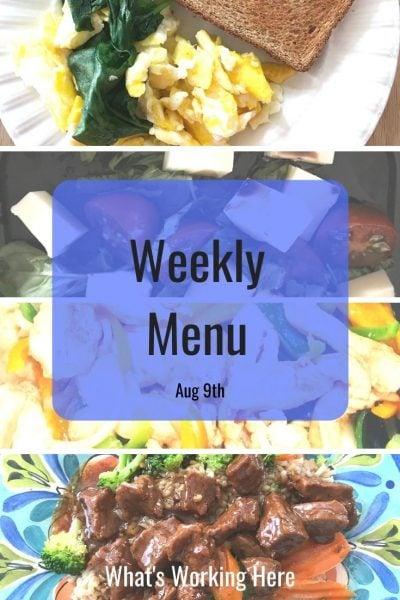Weekly menu 8_9_20