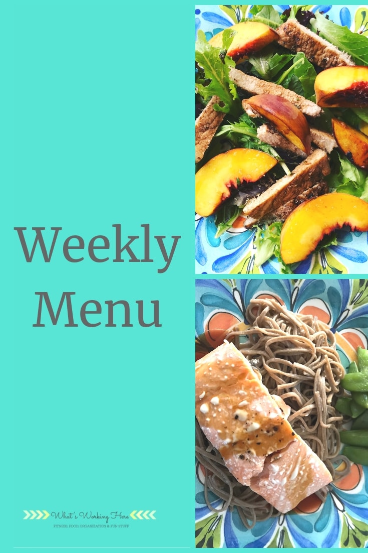 Weekly menu- sep 1