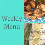 Weekly Menu - Easy Sheet Pan Meals