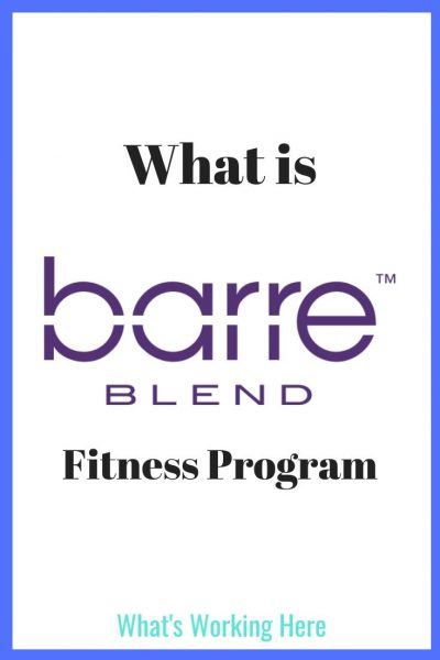 What Is Barre Blend