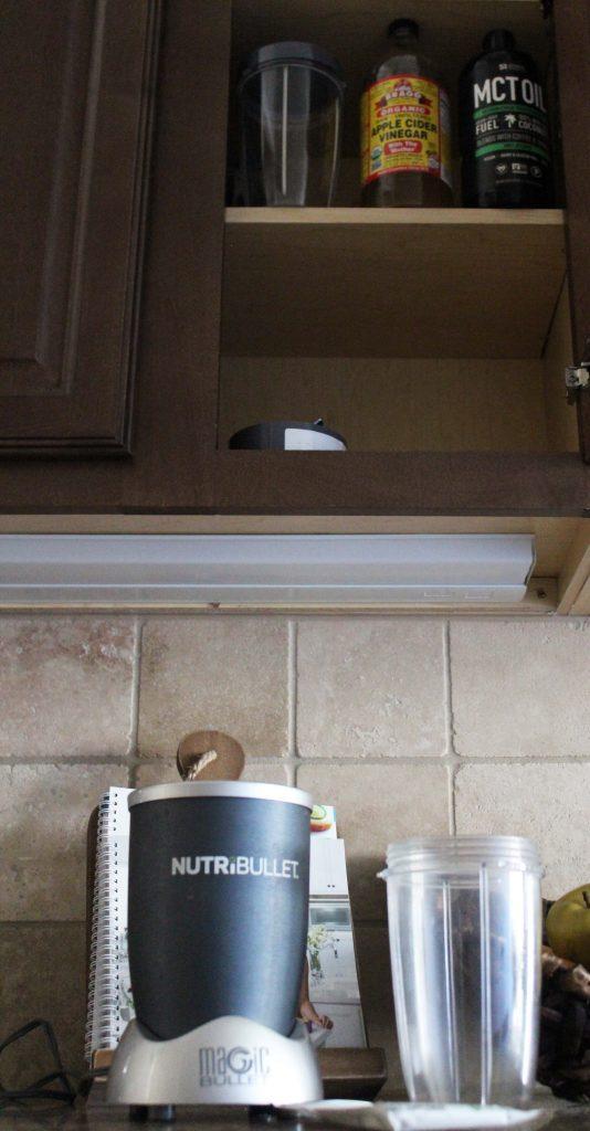 nutribullet storage - smoothie station